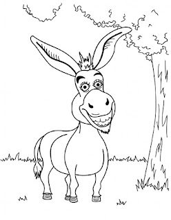 Zonkey Coloring Pages