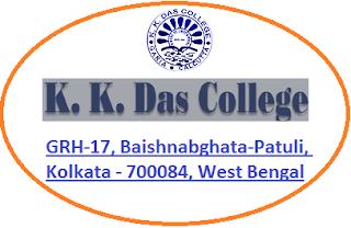 K K Das College, GRH-17, Baishnabghata-Patuli, Kolkata - 700084, West Bengal