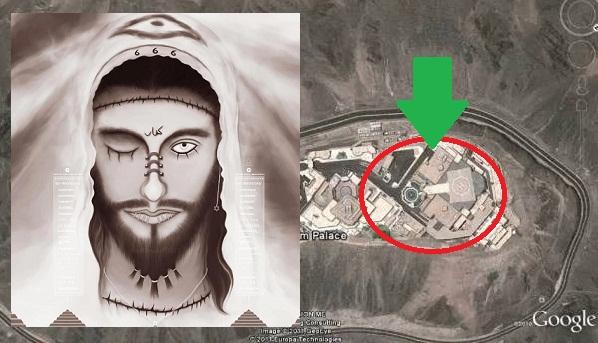 MENGERIKAN! Inilah 7 Foto Istana Dajjal yang sudah siap