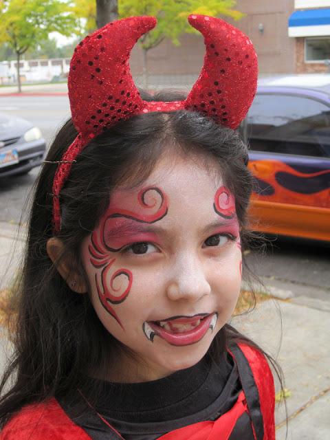 maqulaje de demonio para niño