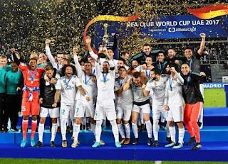 FÚTBOL - El Real Madrid se convierte en bicampeón del mundo
