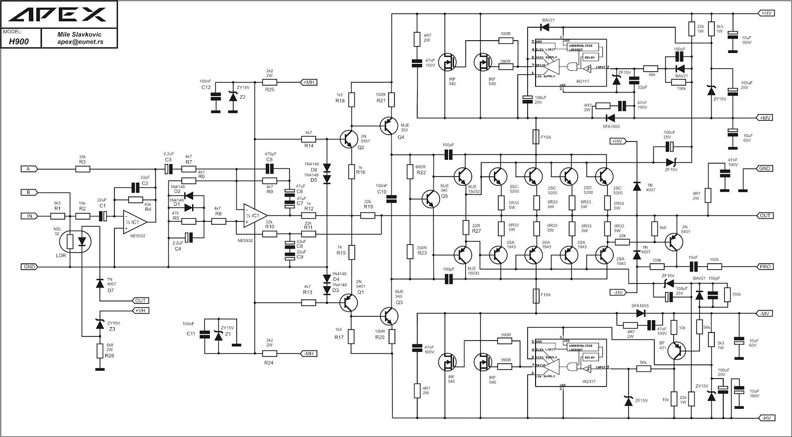 Komputer Amp Jaringan Apex H900