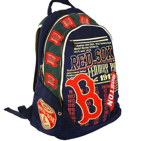 Boston Red Sox Historic MLB BackPack f6e6206b0f1c3
