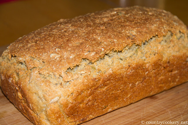 Oats Bread with Seeds