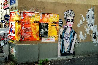 Sunday Street Art : Suriani - Cour de la Métairie - Paris 20