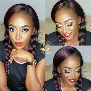 Kate Henshaw looks alluring in makeup photos