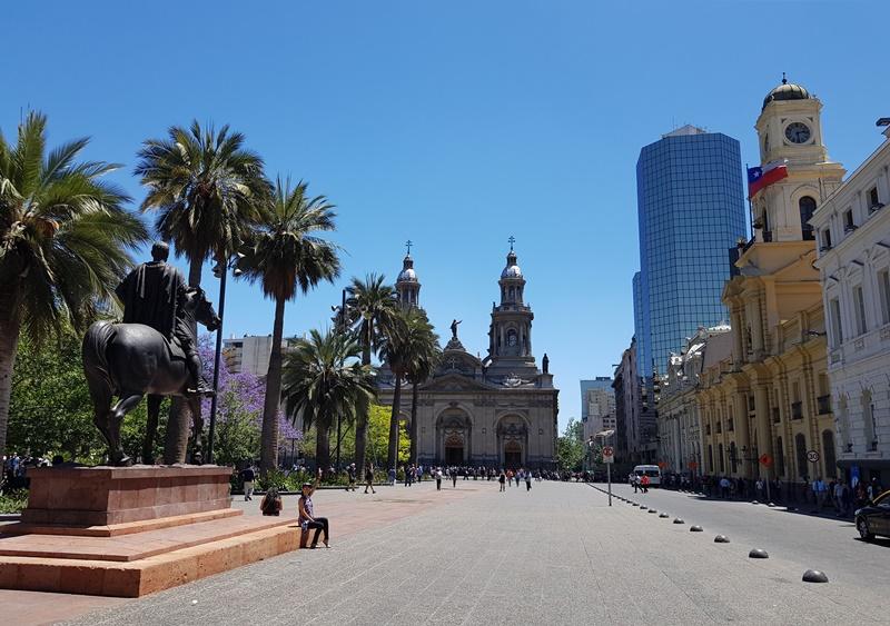 Hotéis bons e baratos em Santiago - Chile