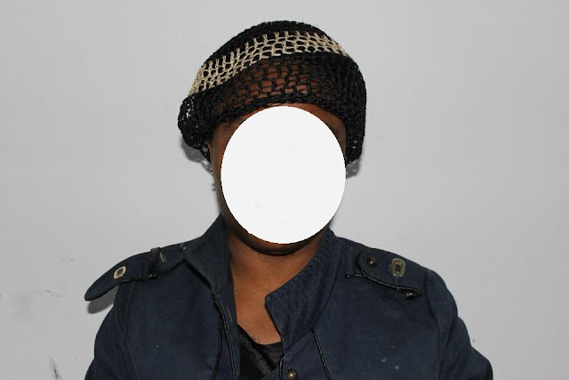 Photos: Nigerian woman arrested in Libya for alleged drug dealing and human smuggling
