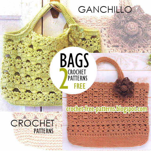 Bag Crochet Pattern Free Download : Crochet Bags Patterns PDF - Free Download Free Crochet Patterns