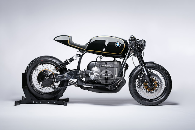 BMW R100R By Diamond Atelier Hell Kustom