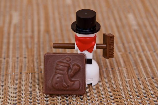 Lego - Advent Calendar - Calendrier de l'Avent - Snowman - Bonhomme de neige - Snow - Lego - Chocolat au lait