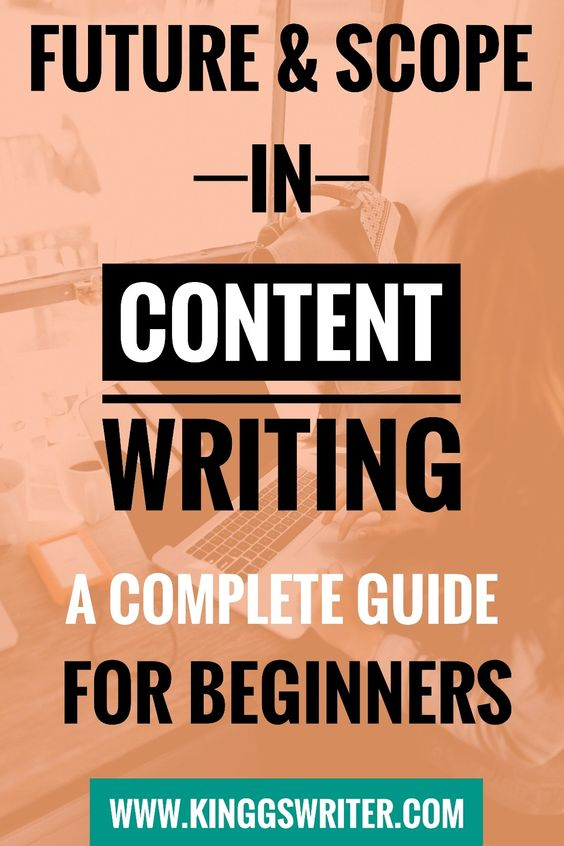 Career as a Content Writer - Future & Scope in Content Writing