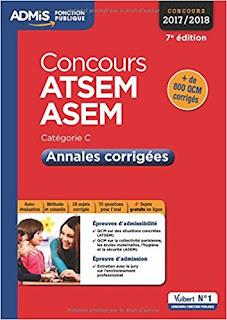 Concours Atsem Et Asem de Dubuis Caroline PDF