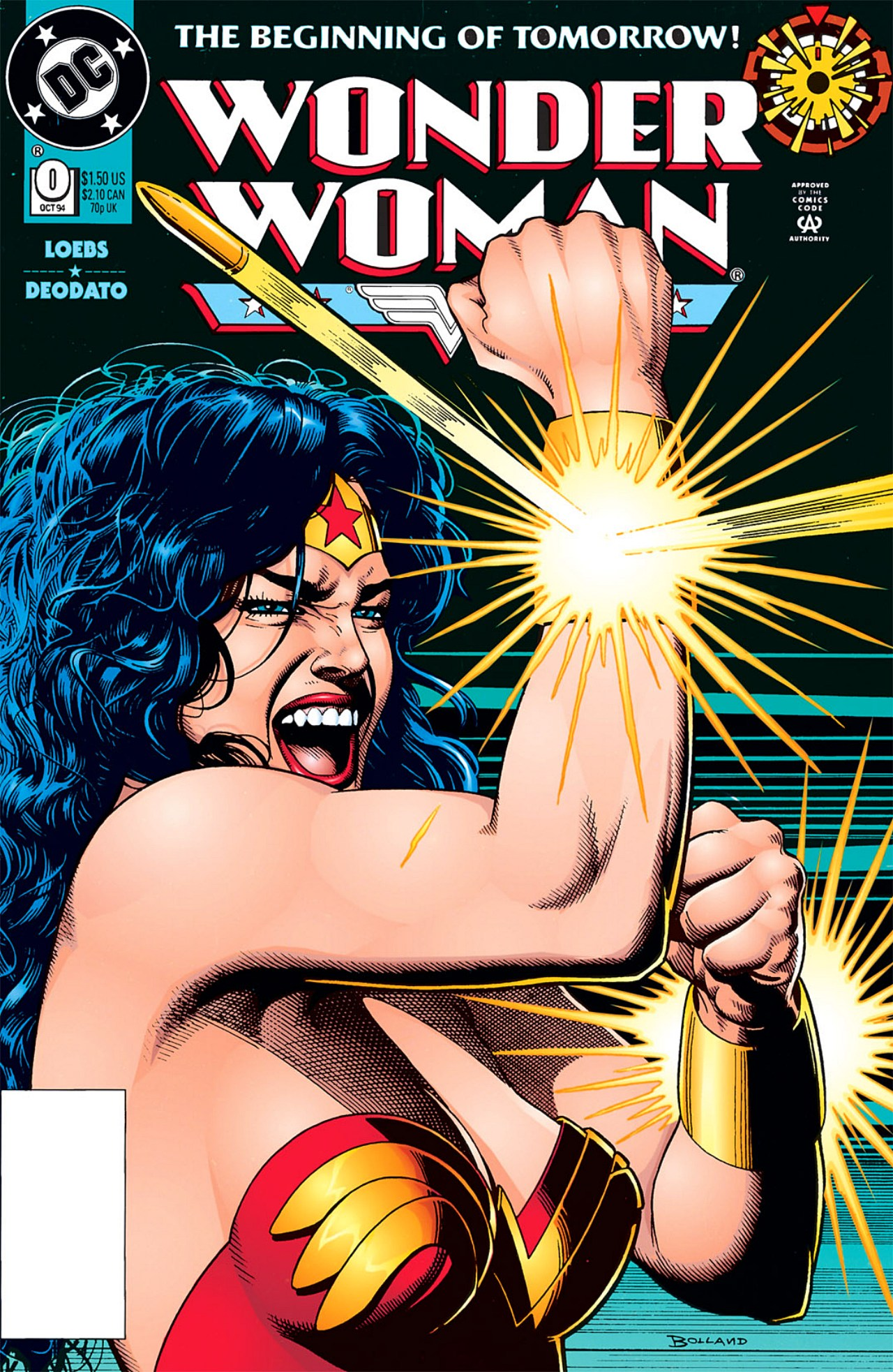 Read online Wonder Woman (1987) comic -  Issue #0 - 1