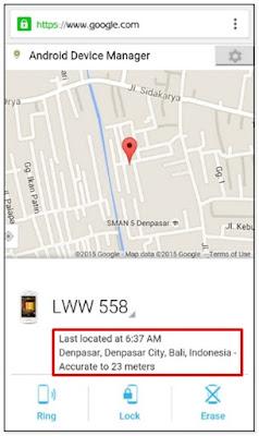 Cara Mencari Hp Android Yang Hilang Tanpa Aplikasi