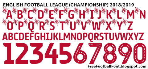 Free Football Fonts: May 2019