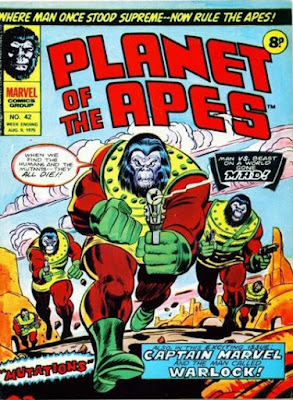 Marvel UK, Planet of the Apes #42
