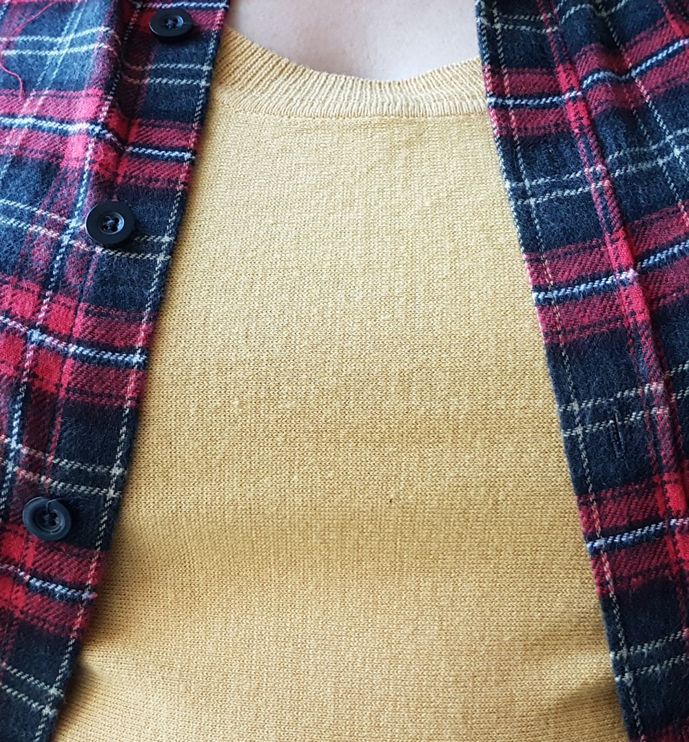 Plus size checked shirt - lumberjack chic // www.xloveleahx.co.uk
