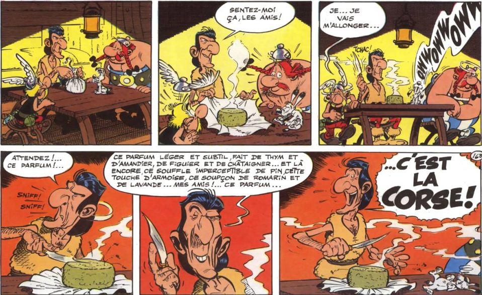 Astérix en Corse, de René Goscinny et Albert Uderzo (1973)