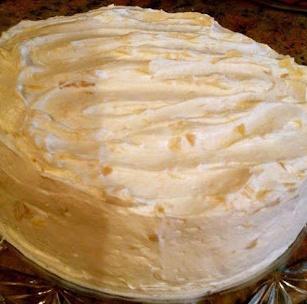 Pineapple Orange Sunshine Cake