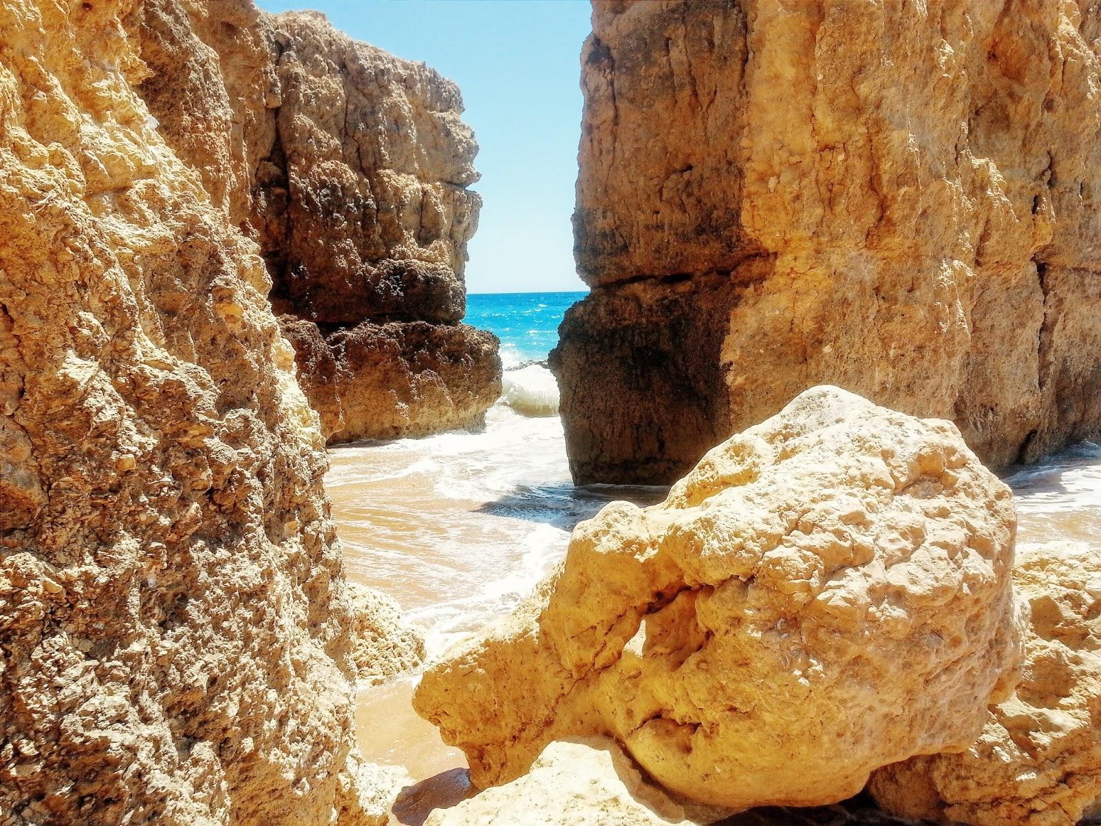 Praia Castelo in de Algarve