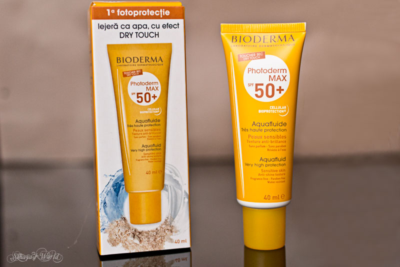 review bioderma photoderm max aquafluide spf50