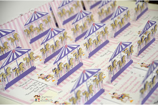 birthday carousel invites