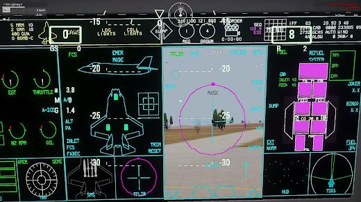 Arma3用アメリカ空軍MODのF-35B Lightning II戦闘機の垂直離陸