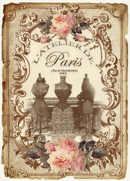 Carta Decoupage Shabby Chic.Alex The Pink House Immagini Gratis Per Lavori Creativi