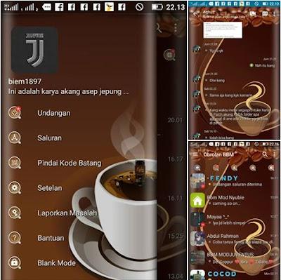 BBM Mod Coffe v01 Apk Terbaru 2017