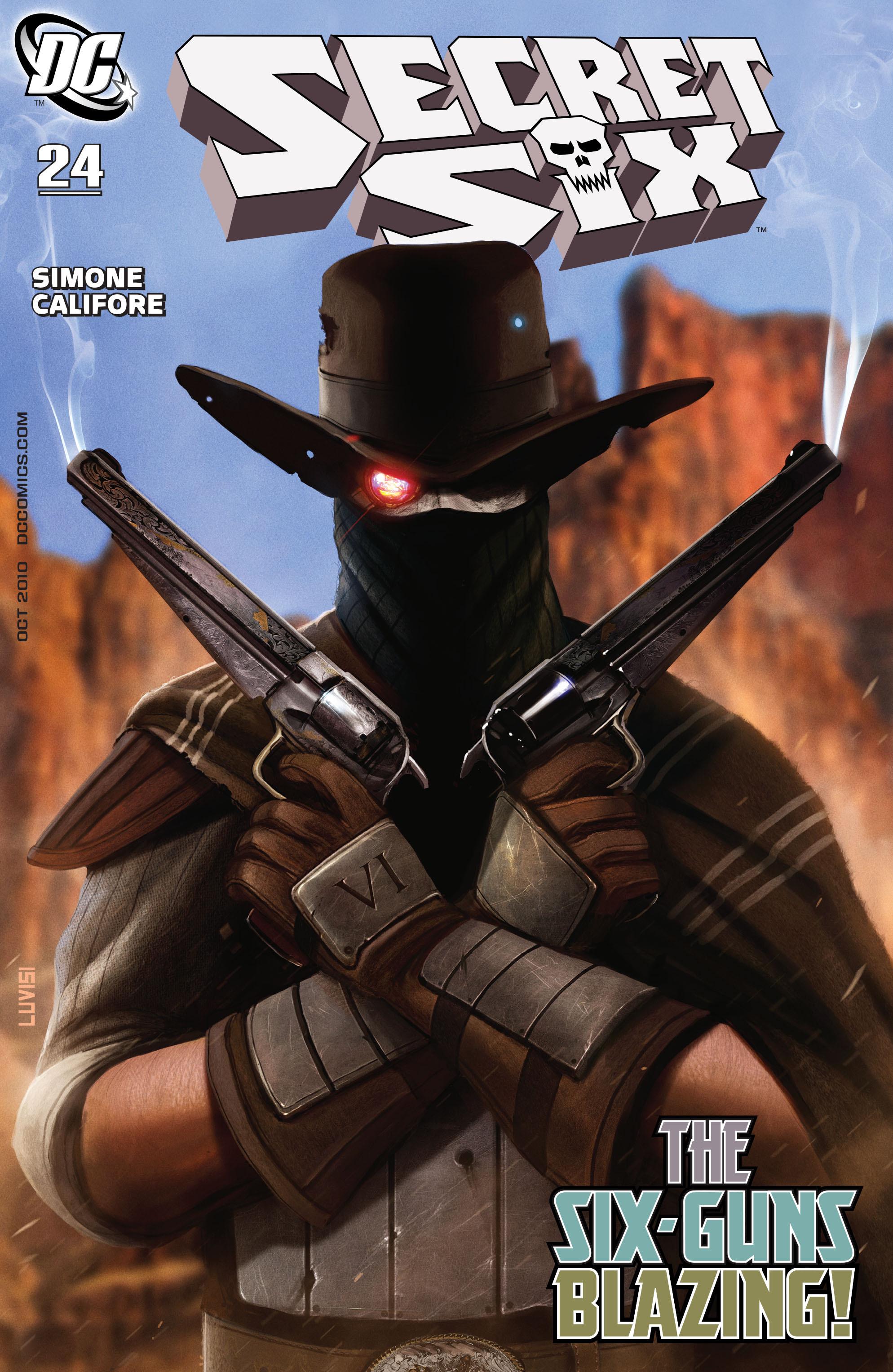 Read online Secret Six (2008) comic -  Issue #24 - 1