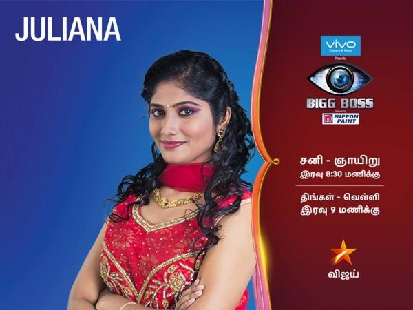 juliana bigg boss tamil