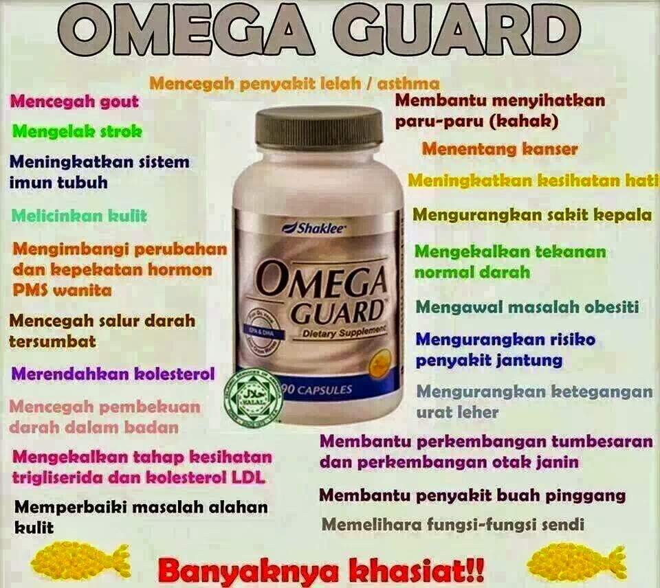 Manfaat Omega Guard Shaklee