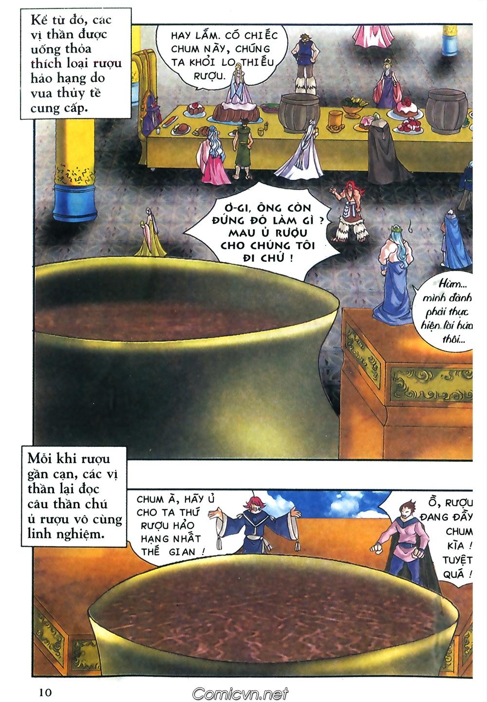 Thần thoại Bắc Âu - Chapter 38: Sứ mệnh đặc biệt - Pic 11