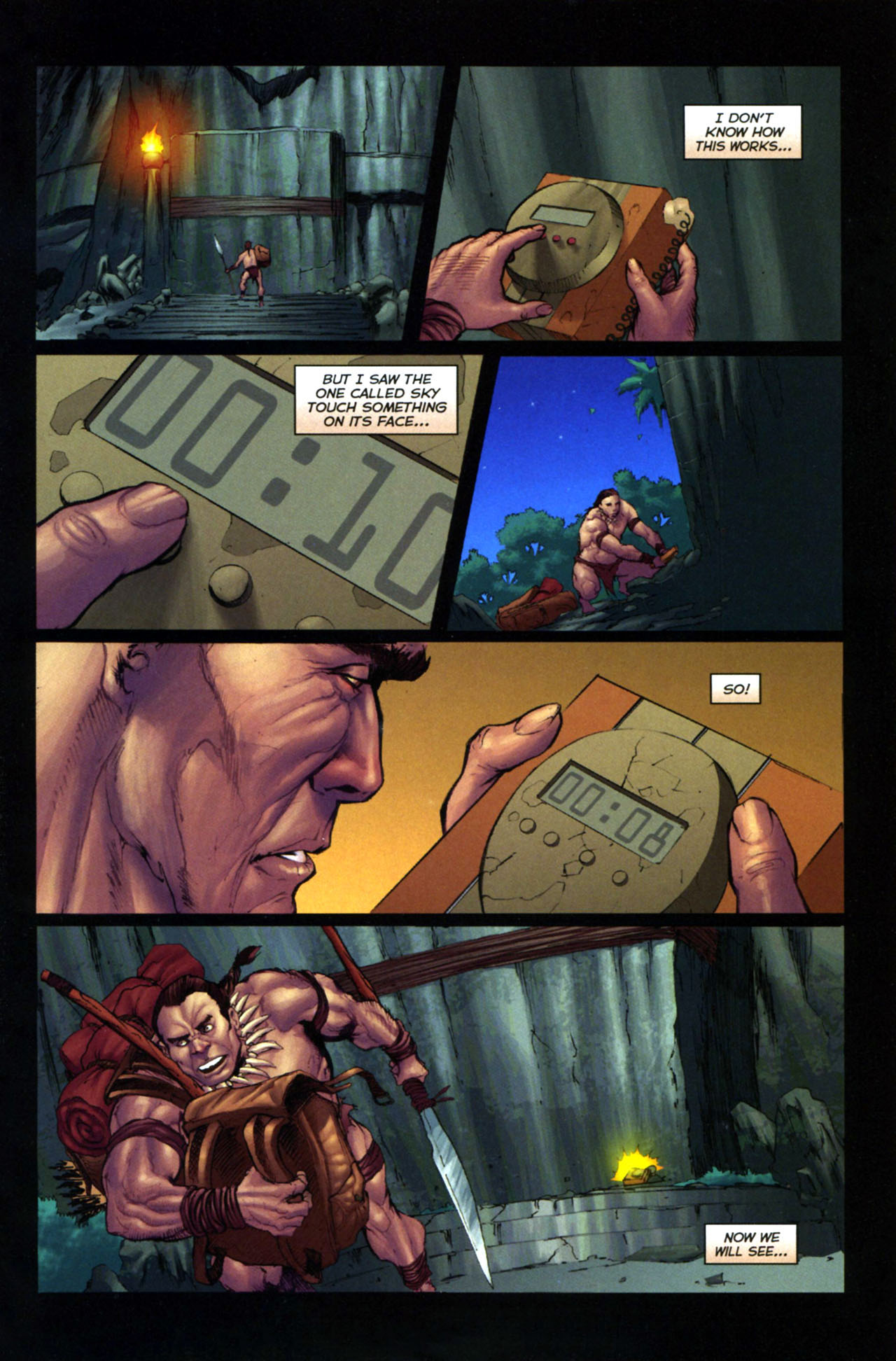 Read online Jungle Girl comic -  Issue #4 - 6