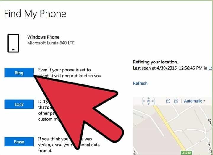 Cara Melacak HP Windows Phone yang hilang