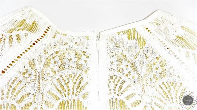 "Dressfo Review - ""Pure and Plain High-Waist A-Line Lace Dress"" (www.TheGracefulMist.com)"