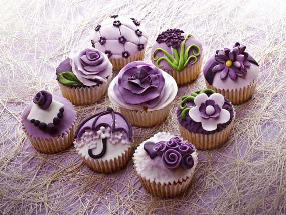 как украсить кексы