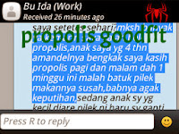 efek samping propolis