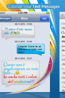 Сolorize You Text Messages