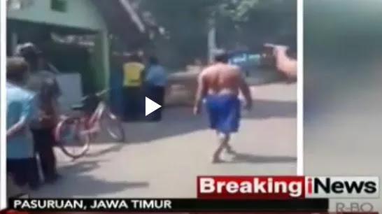 Pelaku Ledakan Bom di Pasuruan Berhasil Kabur