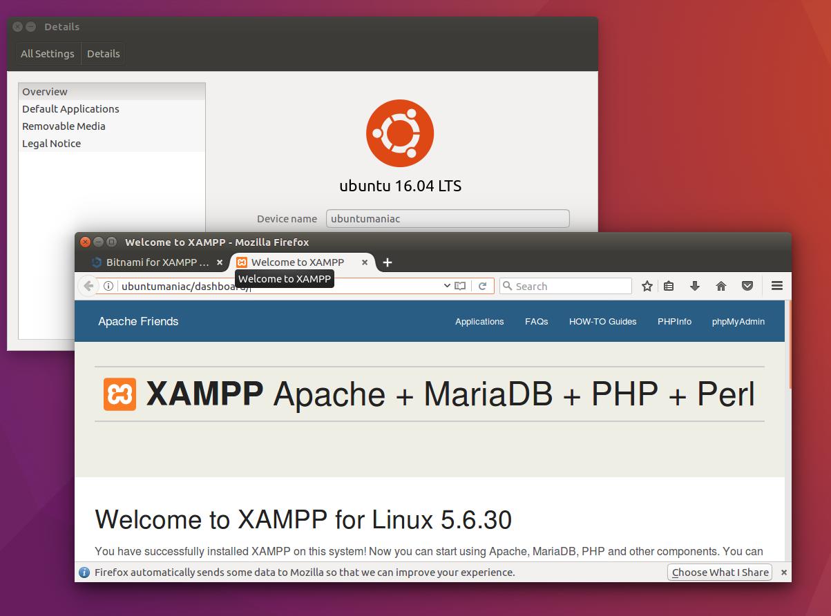install xampp ubuntu 32 bit