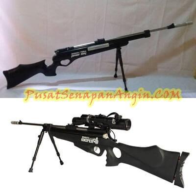 Jual Senapan Angin Bramasta Black Sniper