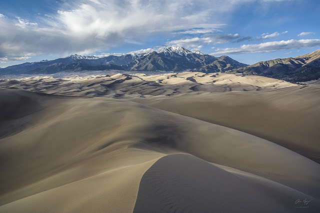 High Dune from Great Sand Dunes National Park Colorado