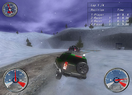 تحميل لعبة قيادة وسرعة Winter Extreme Racers