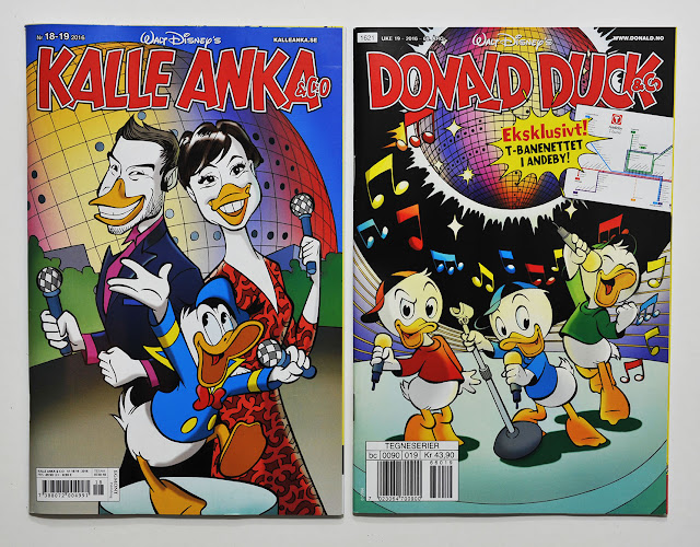 Kalle Anka & Co #18-19/2016 and Donald Duck & Co #19/2016