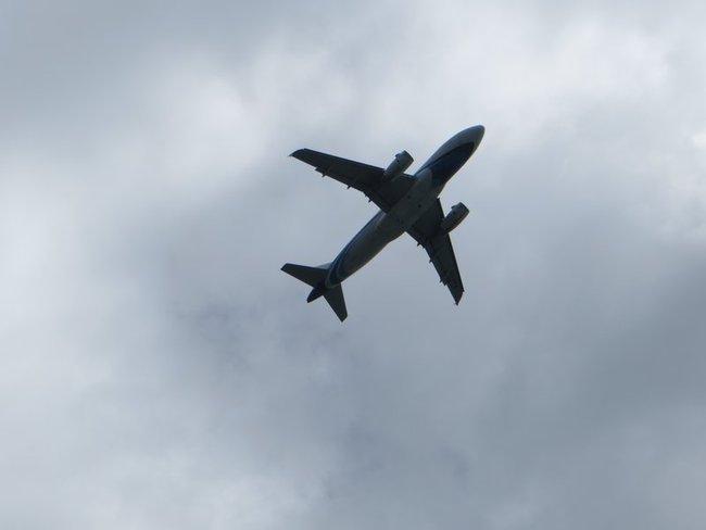 Самолет над Самуи