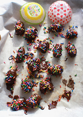 Holiday Peanut Butter Chocolate Candy