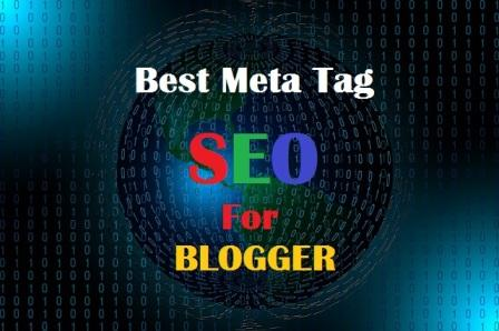 The Best SEO Meta Tag For Blogger