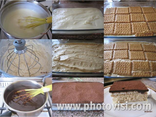 كعكة السنيكرز الباردة ( من غير سنيكرز )